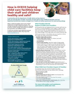 Child Care COVID-19 Safety Flyer